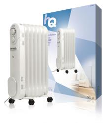 HQ HQ-OR07 Mobiele radiator oliegevuld 7 ribben 1500 W