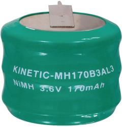 Kinetic NIMH-170/3 Batterijpack NiMH 3.6 V 170 mAh