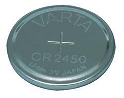 Varta 6450.101.401 CR2450 lithium batterij 3 V 560 mAh 1-blister