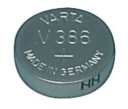 Varta 386.101.111 V386 horloge batterij 1.55 V 105 mAh
