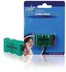 HQ ACCU-T0157 Batterijpack DECT telefoons NiMH 3.6 V 600 mAh