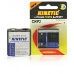 Kinetic CRP2-1B CRP2 lithium foto batterij 6 V 1300 mAh 1-blister