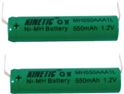 Kinetic NIMH-5003U Batterijpack NiMH 1.2 V 550 mAh