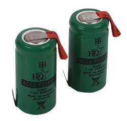 HQ MH600AAK1P Batterijpack NiMH 1.2 V 600 mAh