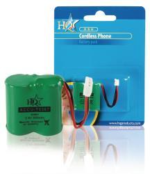 HQ ACCU-T0367 Batterijpack DECT telefoons NiMH 2.4 V 300 mAh