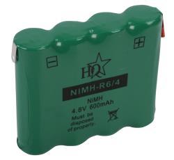 HQ NIMH-R6/4 Batterijpack NiMH 4.8 V 600 mAh