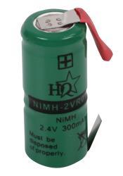 HQ NIMH-2VR011 Batterijpack NiMH 2.4 V 300 mAh