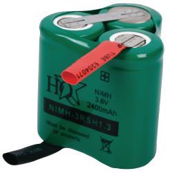 HQ NIMH-3RSH1.3 Batterijpack NiMH 3.6 V 2400 mAh