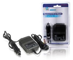 P.SUP.CAR5V2A Car adapter voor Tomtom en PSP