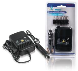 P.SUP.CAR10-HQ Universele auto DC adapter