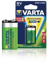 Varta 56722.101.401 Batterij NiMH LR22 8.4 V 200 mAh R2U 1-blister