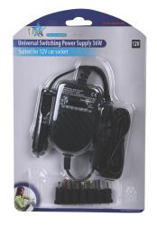HQ P.SUP.SMP36-HQ Universele 12 V adapter 36 W