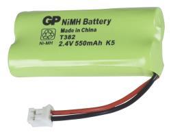 GP 220382C1 Batterijpack DECT telefoons NiMH 2.4 V 550 mAh