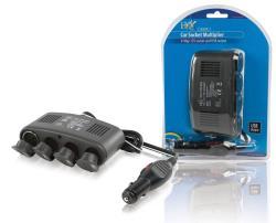 P.SUP.CARSPL4 4-weg autoverdeeladapter 12 V USB
