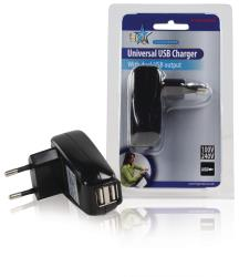 HQ P.SUP.USB402 Dubbele USB lader