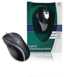 Logitech 910-003726 M500 bedrade muis zwart
