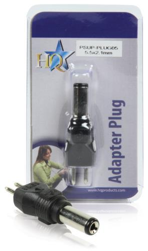 PSUP-PLUG05 Reserveplug adapter 5,5 x 2,1 mm