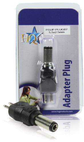 PSUP-PLUG07 Reserveplug adapter 5,5 x 2,5 mm