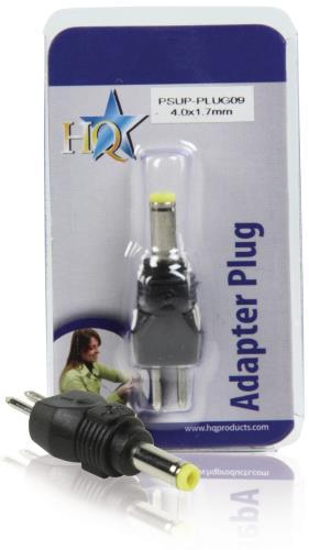 PSUP-PLUG09 Reserveplug adapter 4,0 x 1,7 mm