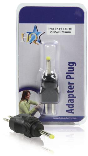 PSUP-PLUG16 Reserveplug adapter 2,35 x 0,75 mm
