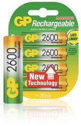 GP 120270AAHCC4 Batterij NiMH AA/LR6 1.2 V 2600 mAh 4-blister