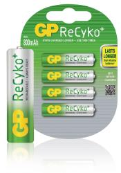 GP 12585AAAHCB-UC4 Batterij NiMH AAA/LR03 1.2 V 820 mAh ReCyKo+ 4-blister