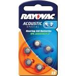 Rayovac 4606.945.416 Hoortoestelbatterijen HA13 6-blister