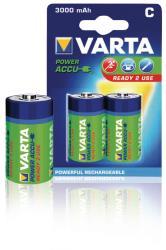 Varta 56714.101.402 Batterij NiMH C/LR14 1.2 V 3000 mAh R2U 2-blister