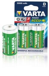 Varta 56720.101.402 Batterij NiMH D/LR20 1.2 V 3000 mAh R2U 2-blister