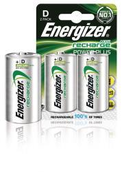 Energizer 635675 Batterij NiMH D/LR20 1.2 V 2500 mAh PowerPlus 2-blister