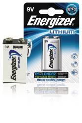 Energizer 635236 Ultimate lithium batterijen 9V 1-blister