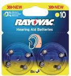 Rayovac 4610.745.418 Hoortoestelbatterijen HA10 8-blister