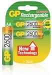 GP 120270AAHCBC2 NIMH rechargeable battery 1V2 AA 2600MaH 2-pack