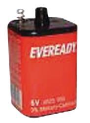Energizer 614072 Spiralblock 6V latern battery