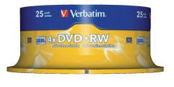 Verbatim 43489 DVD+RW Matt Silver