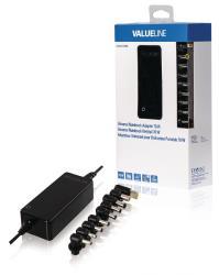 Valueline CSUNA70RBL Universele notebook-adapter 70 W