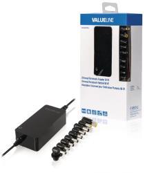 Valueline CSUNA90RBL Universele notebook-adapter 90 W