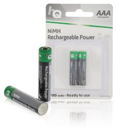 HQ HQHR03-700/2B Oplaadbare NiMH AAA-batterij 700 mAh, blister 2 stuks