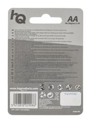 HQ HQR6/4BL Zink-koolstof AA-batterij blister 4 stuks