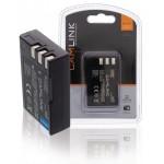 Camlink CL-BATENEL9 Oplaadbare accu voor digitale camera's 7.4 V 1350 mAh