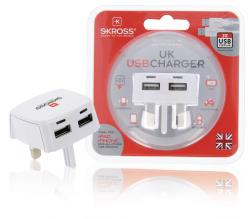 Skross 1302700 UK USB Charger 2.1A