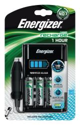 Energizer 638893 1 Hour charger + 4 AA 2300 mAh + car adapter