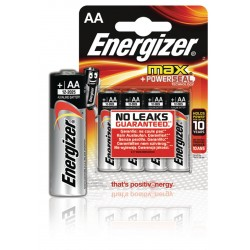 Energizer E300112500 Max alkaline AA/LR6 4-blister
