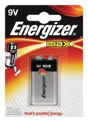 Energizer E300115900 Max alkaline 9V 1-blister