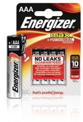 Energizer E300124200 Max alkaline AAA/LR03 4-blister