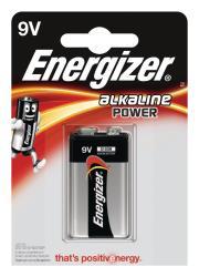 Energizer E300127700 Power alkaline 9V/6LR61 1-blister