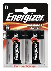 Energizer E300152200 Power alkaline D/LR20 2-blister