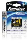 Energizer 639173 Ultimate lithium battery AAA/FR03 1.5 V 3 + 1 free blister