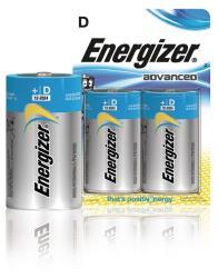 Energizer 53541042600 Advanced alkaline D/LR20 2-blister
