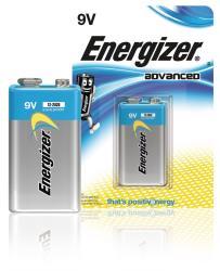 Energizer 53541037200 Advanced alkaline 9V 1-blister